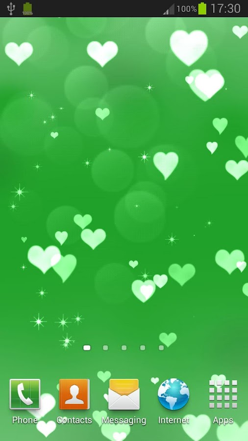 Hearts Live Wallpaper - screenshot