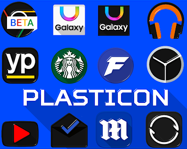 PLASTICON - Icon Pack v1.0.23
