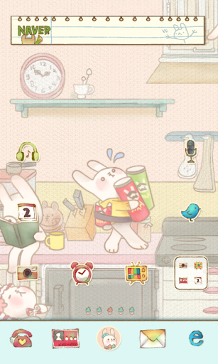Kitchen dodol launcher theme