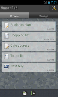 SmartPad - Notes, Todo & Snaps- screenshot thumbnail