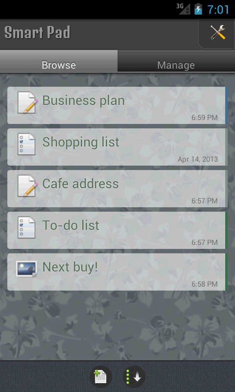 SmartPad - Notes, Todo & Snaps - screenshot