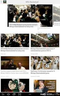 MLive.com: MSU Basketball News- screenshot thumbnail