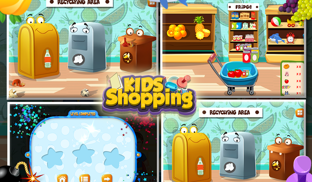 Kids Shopping - screenshot