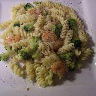 Broccoli and Shrimp Scampi – 7 Points +.