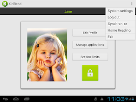 Screenshot of KidRead : Parental control