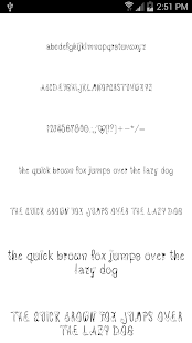 Fonts for FlipFont #17 - screenshot thumbnail