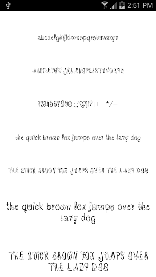Fonts for FlipFont #17- screenshot