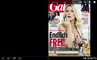 Screenshot of Gala Magazin