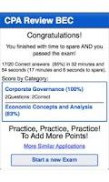 Screenshot of CPA Review - BEC