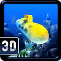 Flappy Submarine Temple 3D icon