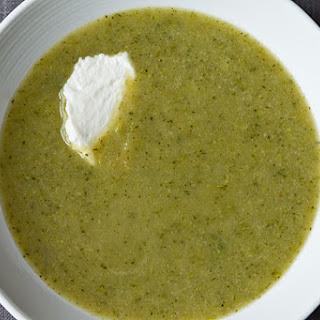 Broccoli Apple Soup.