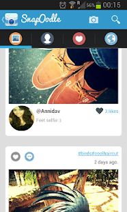 SnapOodle - Photo sharing - screenshot thumbnail