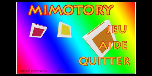 MEMOTORY Version Française