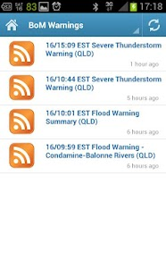 QLD SES - screenshot thumbnail