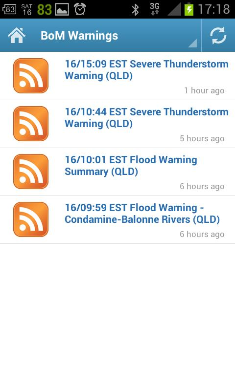 QLD SES - screenshot