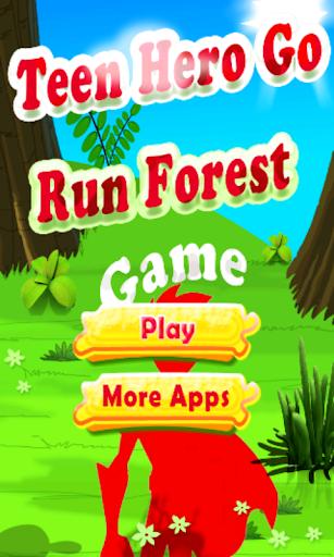 Teen Hero Go Run Forest