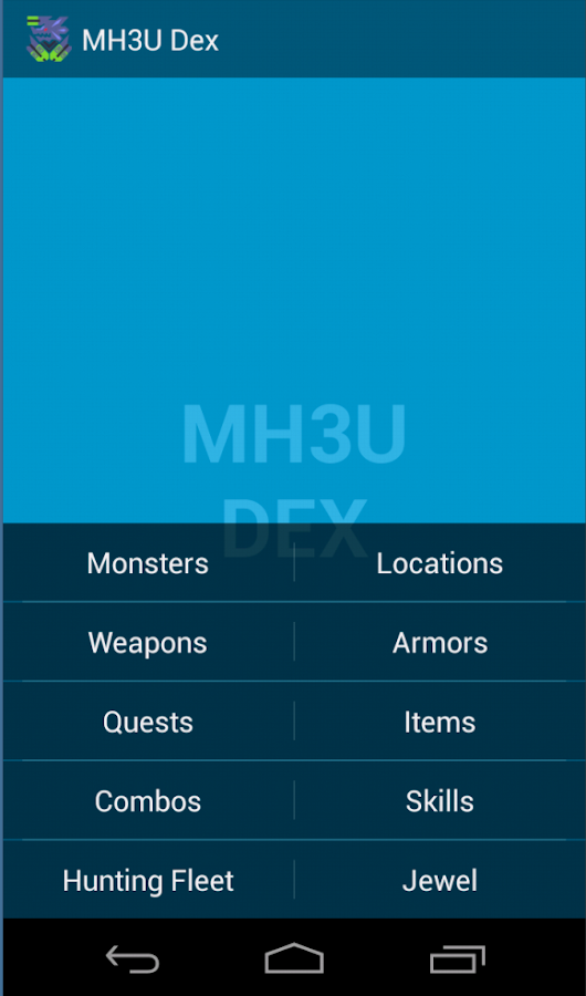 MH3U/G Dex- screenshot
