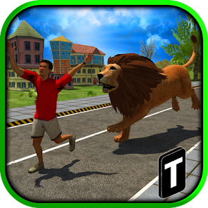 Angry Lion Attack 3D for PC and MAC