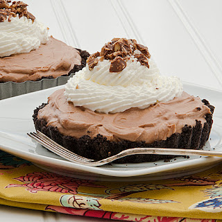 Mini No-Bake Nutella Cheesecakes.