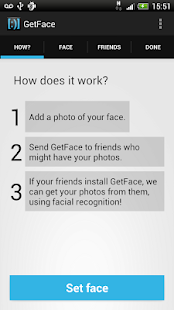 GetFace - screenshot thumbnail