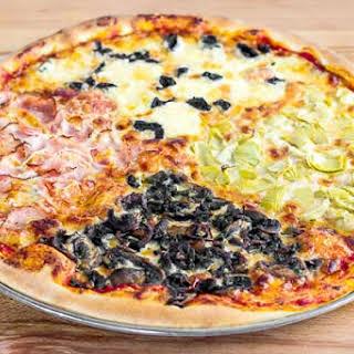 Pizza Quattro Stagioni.