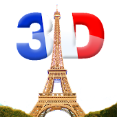 Eiffel Tower 3D Live Wallpaper