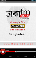 Screenshot of Dhaka FM 90.4