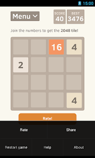 2048 for Android - screenshot thumbnail