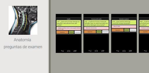Anatomía preguntas de examen - Aplicaciones en Google Play