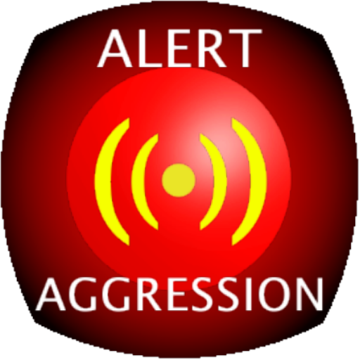 Alert aggression LOGO-APP點子