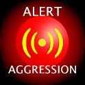 Alert aggression icon