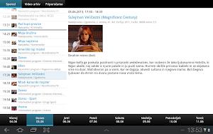 2 Planet Televizija App screenshot