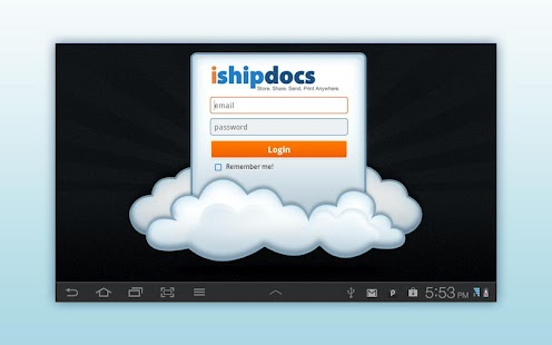 ishipdocs- screenshot thumbnail