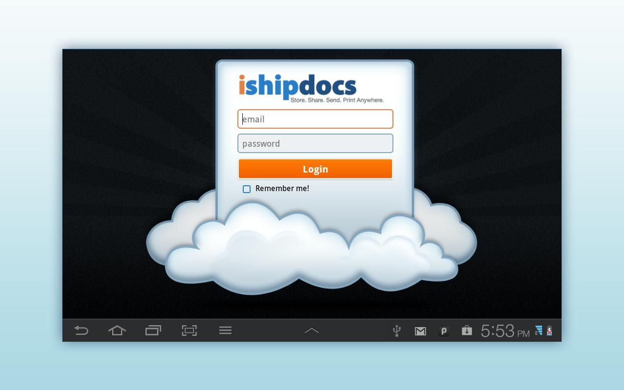 ishipdocs- screenshot