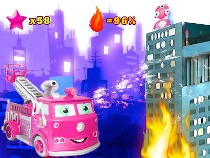 消防車尖峰時刻孩童3D