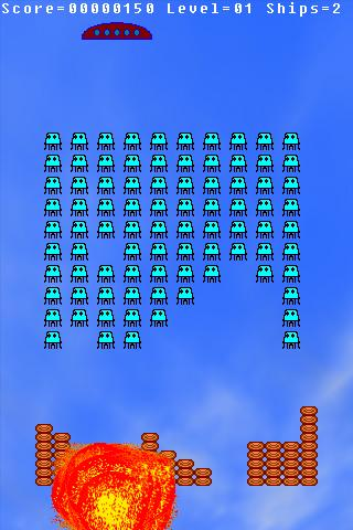 appInvaders- screenshot
