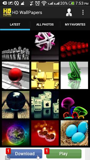 【免費個人化App】HD Wallpapers-APP點子