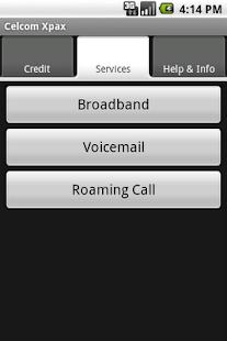 Celcom Xpax- screenshot thumbnail