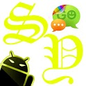GOSMS SulphurYellow Theme-Free icon