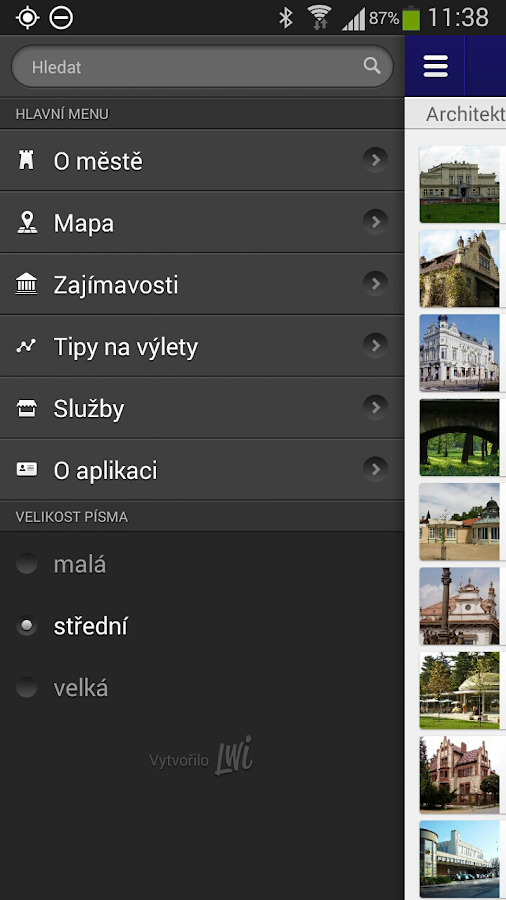 Poděbrady- screenshot