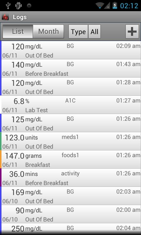 Glucose Buddy : Diabetes Log - Android Apps On Google Play