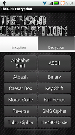The4960 Encryption