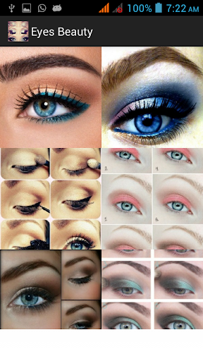 Makeup Ideas and Steps - Eyes