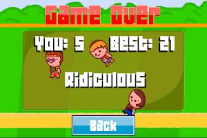 Screenshot of SaveUs