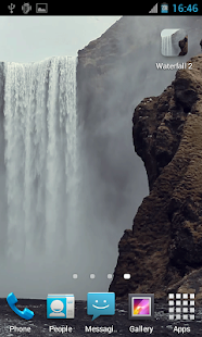 Waterfall2 LWP - screenshot thumbnail