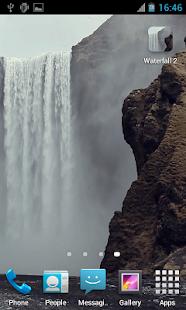 Waterfall2 LWP - screenshot thumbnail