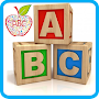 Alphabet letters for kids APK icon