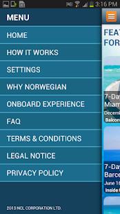 Norwegian Flash Deals - screenshot thumbnail