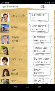 Tablet SMS Messaging Dinamotxt- screenshot thumbnail