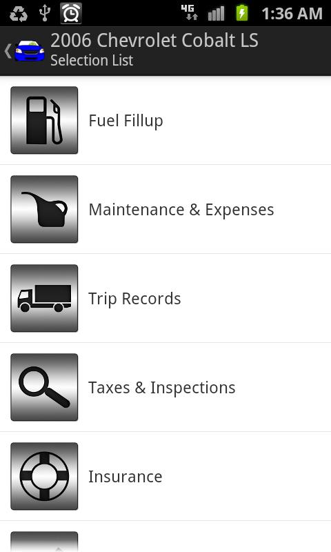 Complete Car Care Free Edition - screenshot